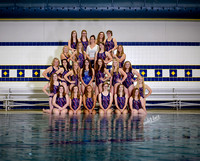 Swim Team Girls 2015-