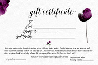 gift certificate back